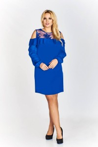 Sukienka DAKOTA - chaber plus size