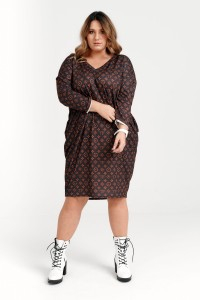 Sukienka QUEEN plus size